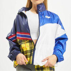 Nike Sportswear NSW Woven Plaid Jacket